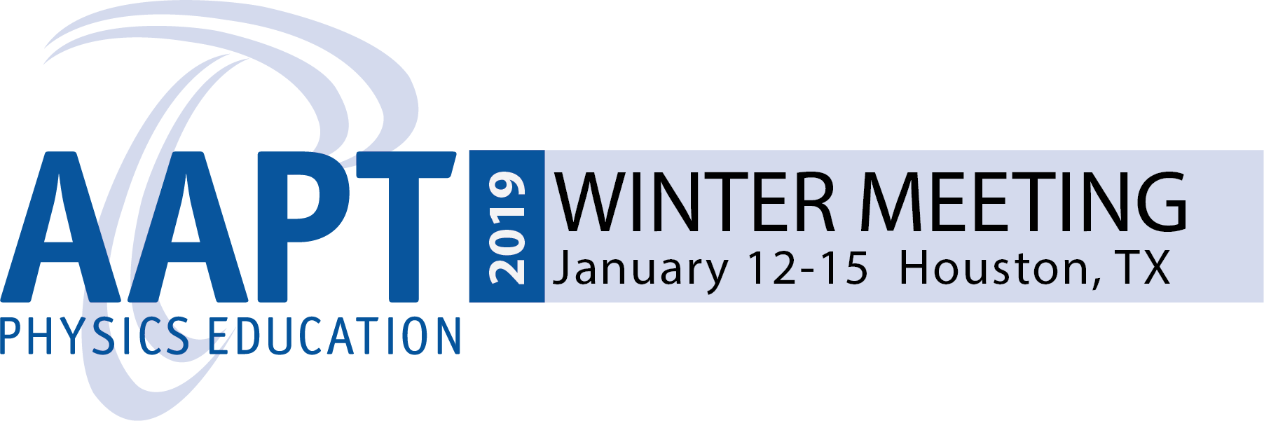 AAPT Winter Meeting 2019 in Houston 865d438892a0