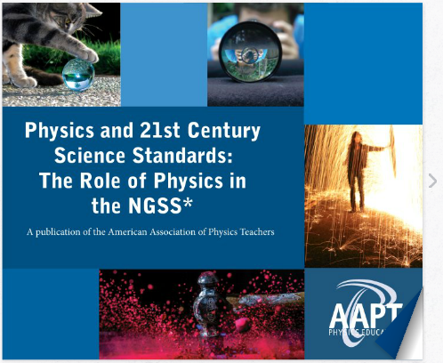 NGSS Interactive Booklet Cover