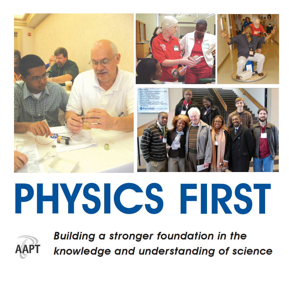 Physics First Booklet