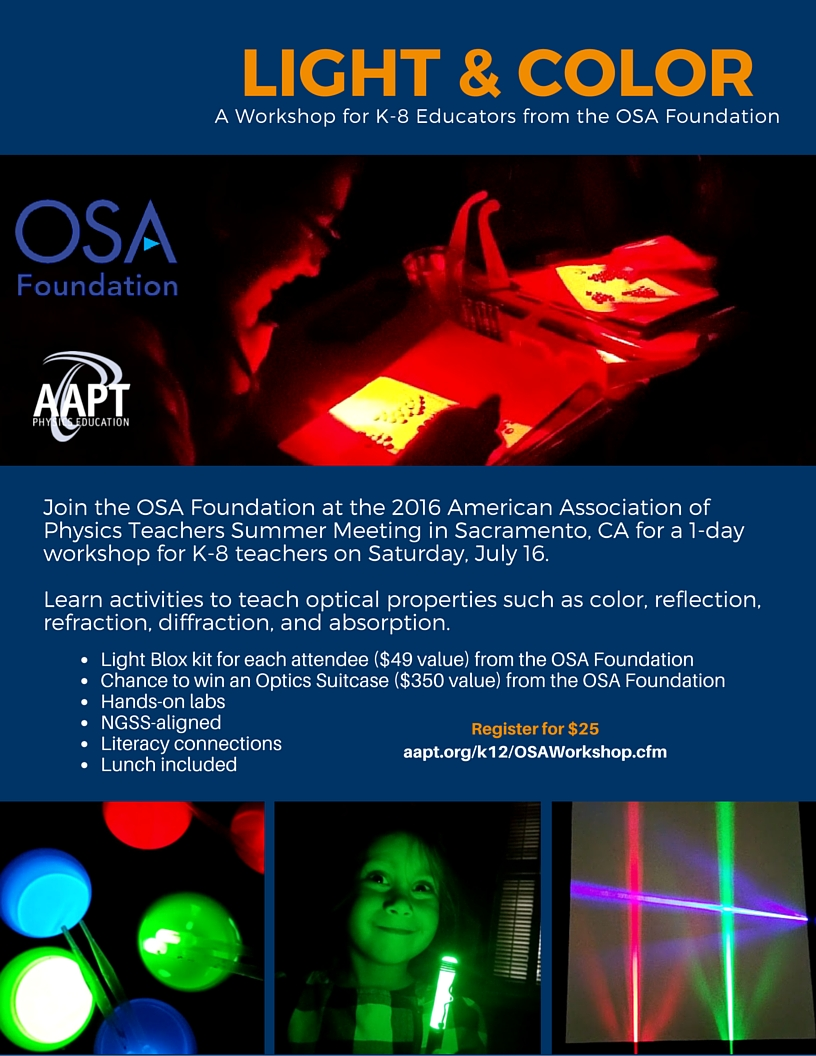 OSA Workshop