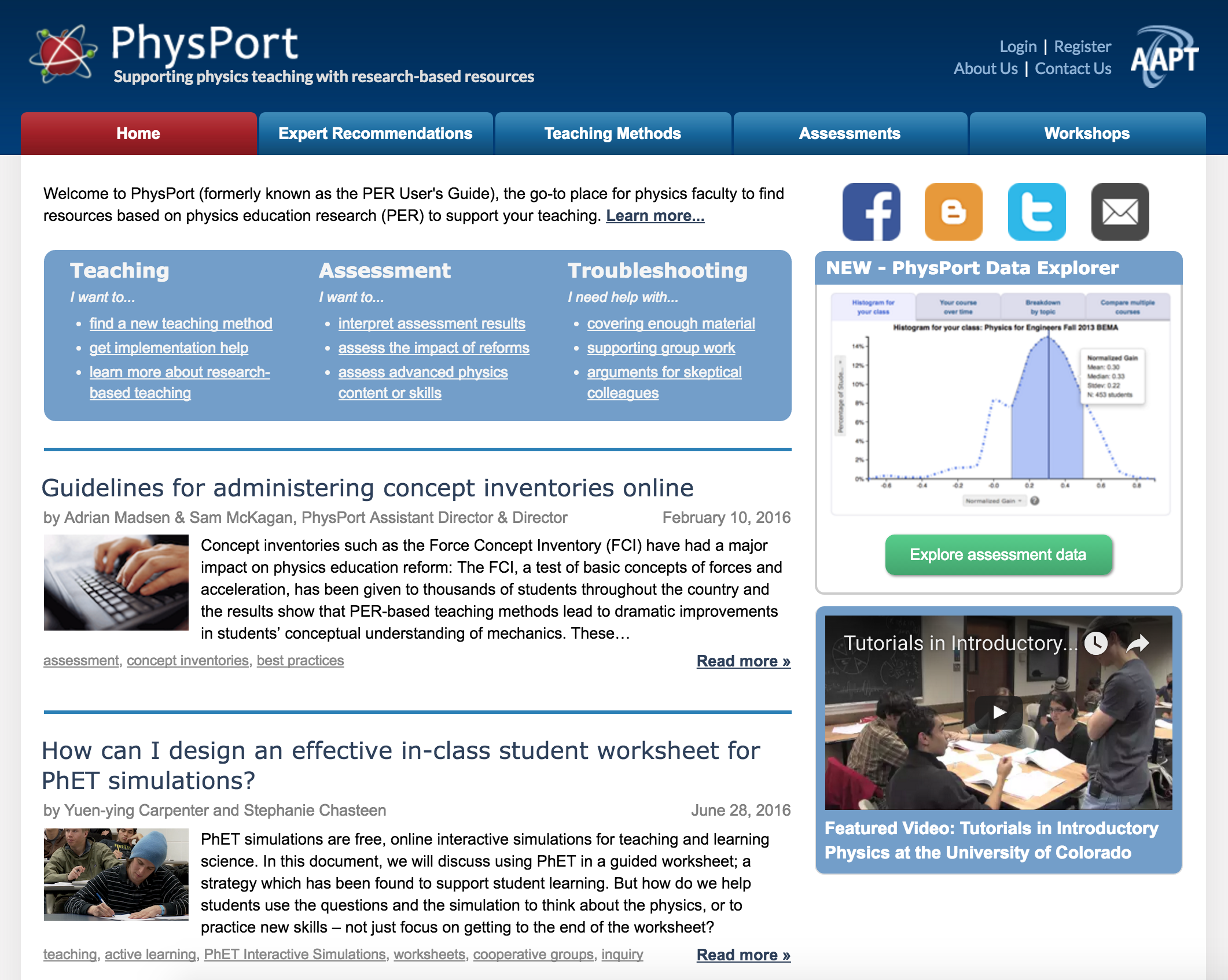 k programs kblog physport front page