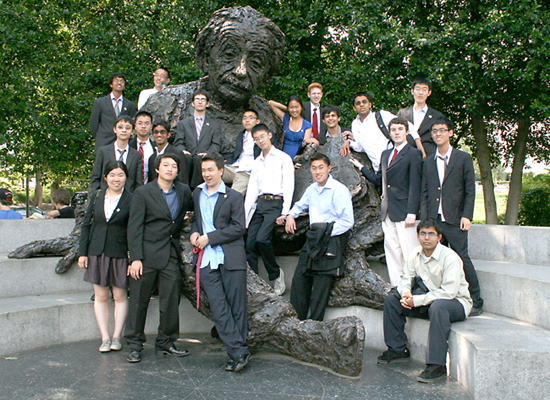 US Physics Team Group 2012