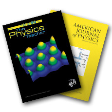 AAPT journals, The Physics Teacher and American Journal of Physics