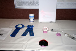2010 Apparatus Competition 1st Place - 'A Lens to Demonstrate Accomodation in the Focusing of the Human Eye'