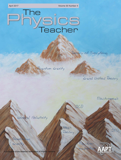 April 2017 issue of The Physics Teacher