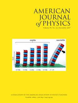 American Journal of Physics, December 2017, Volume 85 Number 12