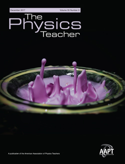 December 2017 issue of The Physics Teacher