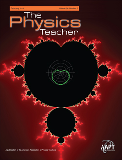 February 2019 issue of The Physics Teacher