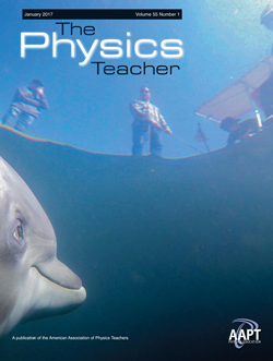 January 2017 issue of The Physics Teacher