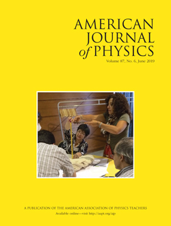 June 2019 issue of American Journal of Physics