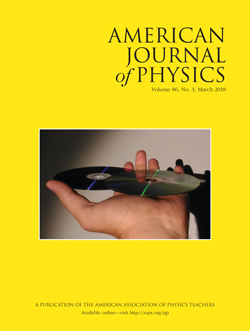 March 2018 issue of American Journal of Physics