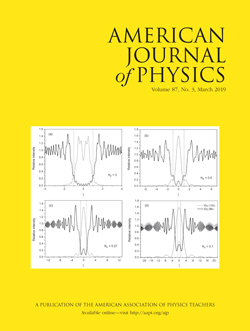 March 2019 issue of American Journal of Physics