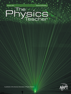 January 2021 Issue of The Physics Teacher