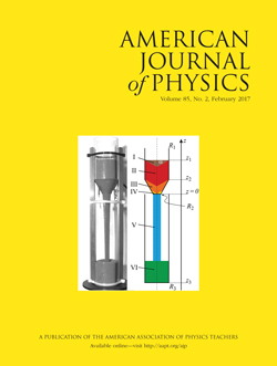 American Journal of Physics February 2017