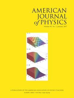 January 2017 issue of American Journal of Physics