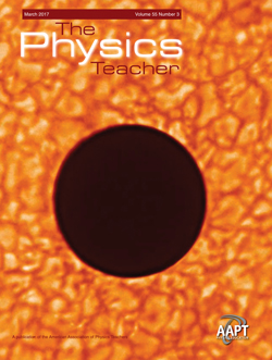March 2017 issue of The Physics Teacher