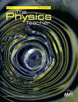 May 2018 issue of The Physics Teacher