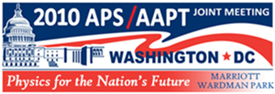 2010 APS/AAPT Joint Meeting
