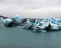 'Glacial Blue Icebergs' by Nyle T Wong
