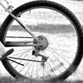 'Blurry Spokes' by Archan Baldev Luhar